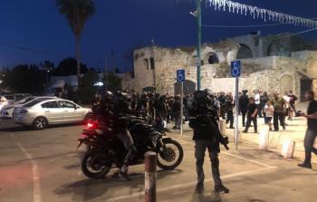 الشرطة الإسرائيلية تقمع مسيرة سلمية في اللد وتعتقل عددا من المشاركين فيها