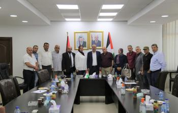 الشيخ يلتقي لجنة إقليم حركة فتح بمحافظة سلفيت