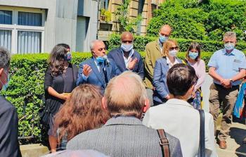 إحياء الذكرى الـ 40 لاستشهاد المناضل نعيم خضر في بروكسل