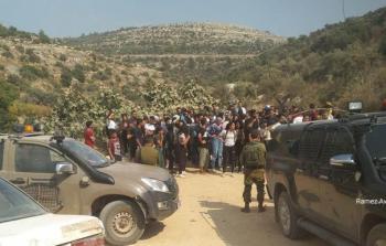 الاحتلال يحتجز عددا من طلبة جامعة بيرزيت