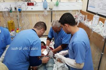 إصابة شاب بجروح خطيرة برصاص الاحتلال شمالي قطاع غزة