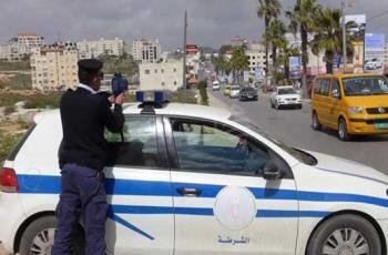 palestinetoday-------مركبات-الشرطة-في-رام-الله