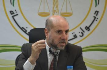 الهباش يصدر بياناً هاماً حول قضية حكومة محمد اشتية