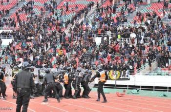 المغرب.. إصابات في صفوف الأمن والمشجعين بمباراة كرة
