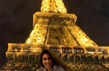 ياسمين صبري تحارب السرقة من باريس