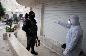 جنين: الشرطة تغلق 200 محل تجاري وتقبض على 7 أشخاص خالفوا حالة الإغلاق