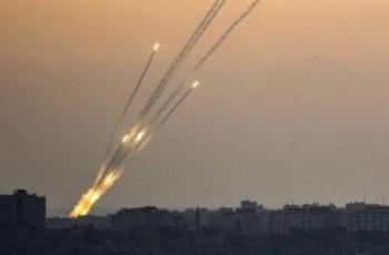 اطلاق عدة صواريخ فجر اليوم من قطاع غزة