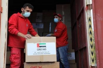 وصول قافلة مساعدات طبية إماراتية إلى سوريا