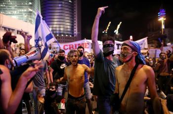 للأسبوع الـ20: آلاف الاسرائيليين يتظاهرون ضد نتنياهو