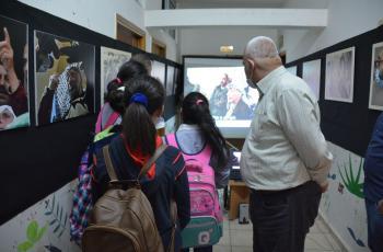 نابلس: مركز يافا الثقافي يفتتح معرضاً لصور الشهيد ياسر عرفات