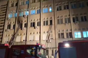 مقتل 10 أشخاص بحريق في مستشفى للمصابين بكورونا في رومانيا