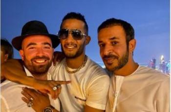 شاهد.. محمد رمضان بعد صورته مع المغني الإسرائيلي- فلسطين نمبر وان -.mp4