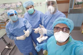 مستشفى الأوروبي بغزة ينجح في إجراء عملية أوعية دموية لأحد مصابي