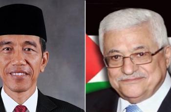 الرئيس عباس يثمن موقف أندونيسيا الرافض للتطبيع مع إسرائيل