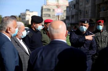 عوض: الإجراءات في غزة هدفها حماية المنظومة الصحية وسلامة المواطنين