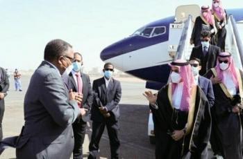 وزير الخارجية السعودية يزور السودان في زيارة تستمر لساعات