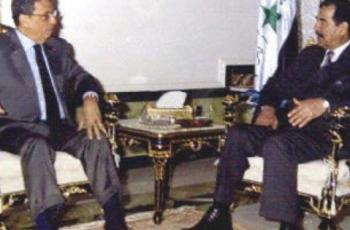 عمرو موسى يكشف أسرار صرخته في وجه صدام حسين