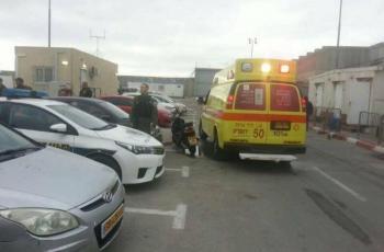 شهيد و7 إصابات جراء تعرضهم للدهس من قبل مستوطن شمال بيت لحم