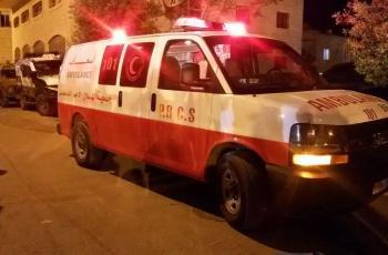 6 إصابات إحداها خطيرة بحادث سير قرب قرية تعنك غرب جنين