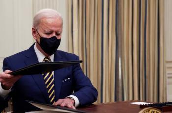 بايدن: لن نرفع العقوبات المفروضة على إيران قبل أن توقف تخصيب اليورانيوم