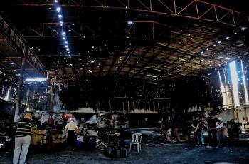 الحايك يطالب بتخصيص جزء من المنحة القطرية لتعويض المصانع والمنشآت المتضررة