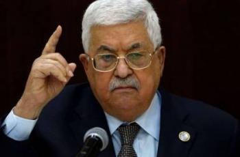 الرئيس محمود عباس لعساف: