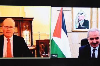 اشتية يدعو إيرلندا لبذل جهود لصياغة موقف أوروبي للاعتراف بفلسطين وحماية حل الدولتين