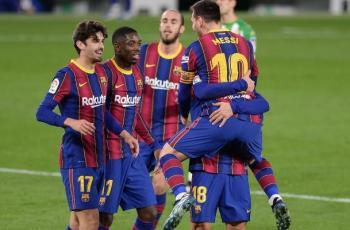 برشلونة يخطف فوزا قاتلا على بيتيس بالدوري الإسباني