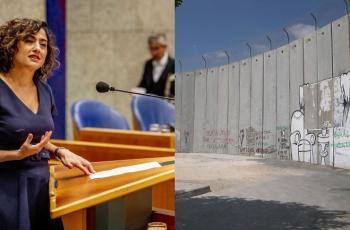 النائب في البرلمان الهولندي كارابولوت: أعتز بوقوفي إلى جانب الفلسطينيين بنضالهم