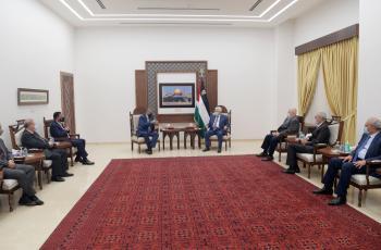 الرئيس يستقبل رئيس الهيئة المستقلة للانتخابات في المملكة الأردنية