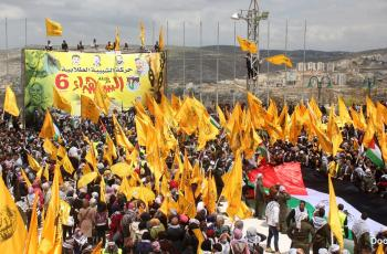 حركة فتح تسجل قائمتها الانتخابية في لجنة الانتخابات المركزية
