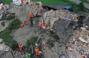مصرع 3 أشخاص جراء زلزال بقوة 5.4 درجة شمال غربي الصين