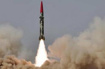 باكستان تعلن إطلاق صاروخ