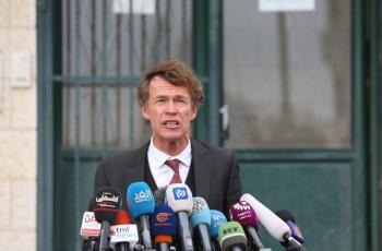 بورغسدورف: الاتحاد الأوروبي مصمم على دعم الانتخابات الفلسطينية