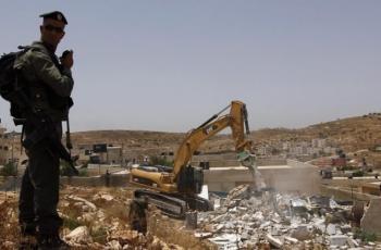 قوات الاحتلال تهدم منزلا ببلدة بيت ساحور شرق بيت لحم