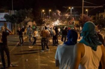 اندلاع مواجهات مع الاحتلال غرب مدينة طولكرم