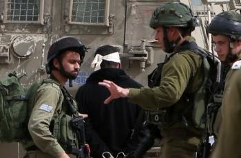 قوات الاحتلال تعتقل 10 شبان من عائلة واحدة في تقوع