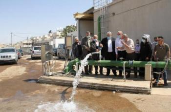 غنيم: اعادة تشغيل بئر العيزرية سيوفر مياه مستدامة لأكثر من 40 ألف نسمة شرقي القدس