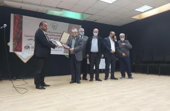 اتحاد الكتّاب يكرم الكاتب محمود شقير وكتّاب ندوة اليوم السابع في القدس
