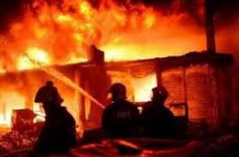 وفاة أم وأطفالها الثلاثة في حريقٍ اندلع بمنزلهم في نابلس