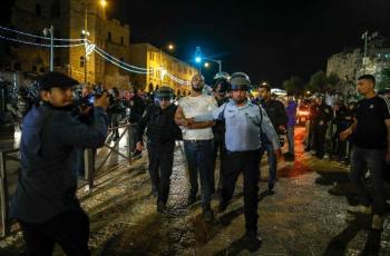 قوات الاحتلال تغلق باب حطة بالقدس وتعتقل 3 شبان