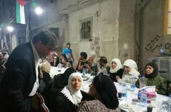 بتوجيهات من الرئيس.. إقامة مأدبة إفطار لأهالي مخيم اليرموك