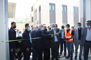 افتتاح محطة تحلية مياه البحر لمحافظتي غزة والشمال