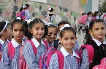 تعليم غزة تقرر اغلاق المدارس والتحول للتعليم عن بعد
