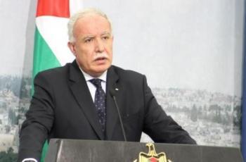 المالكي: جهودنا متواصلة لحشد أوسع ضغط دولي على اسرائيل لضمان اجراء الانتخابات في القدس