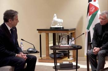 العاهل الأردني لبلينكن: من الضروري الحفاظ على الوضع التاريخي والقانوني القائم بالقدس ومقدساتها