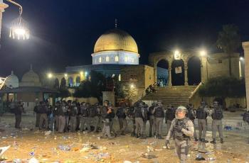 الأردن يدين اعتداء الاحتلال على المصلين في المسجد الأقصى