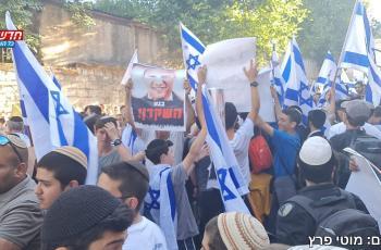 شاهد.. إصابات خلال انطلاق مسيرة الأعلام الاستفزازيّة في القدس المحتلة