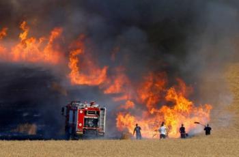 الإعلام العبري: ارتفاع عدد الحرائق في