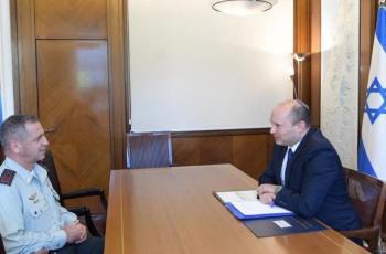 بينت يناقش مع كوخافي أهمية تطبيق خطة